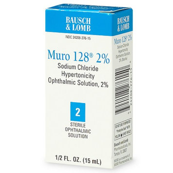 Muro 128 Sterile Ophthalmic 2% Solution