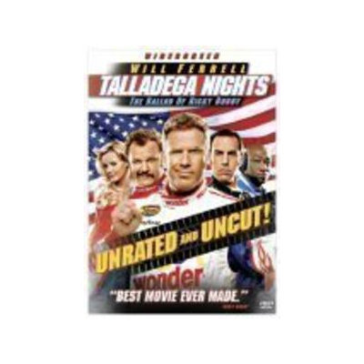 Talladega Nights - The Ballad of Ricky Bobby (Unrated Widescreen Edition) DVD