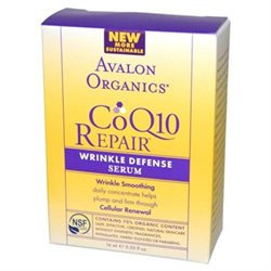 Avalon Organics CoQ10 Repair Wrinkle Defense Serum