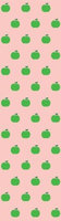 Wall Candy Arts Wallcandy Arts apg01wp Apple Wallpaper in Pink and Green - Full Kit