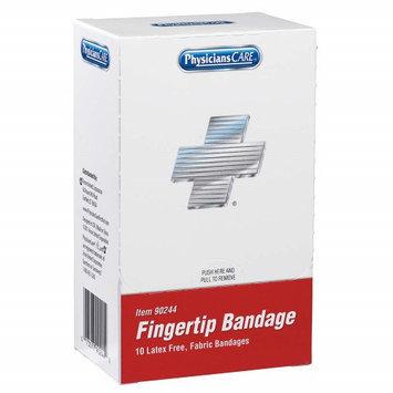 PHYSICIANSCARE 90244G Fingertip Bandage, Beige, Fabric, PK10
