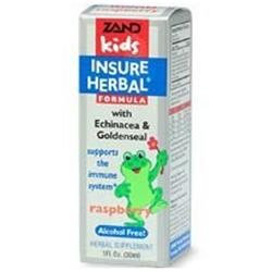 Zand Kids Insure Herbal Immune Support Raspberry - 1 fl oz