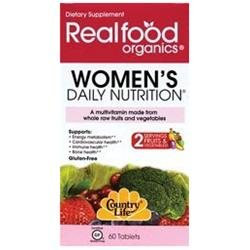 Country Life Vitamins Country Life Realfood Organics Women's Daily Nutrition - 60 Tablets