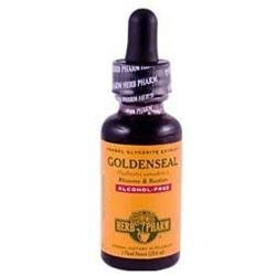 Herb Pharm Goldenseal Herbal Glycerite Extract Alcohol Free - 1 fl oz
