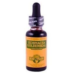 Herb Pharm Echinacea Goldenseal Compound, 1 fl oz
