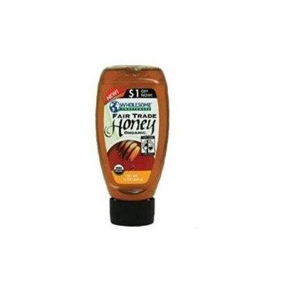 WHOLESOME SWEETNERS Organic Amber Honeysqueeze Bottle 16 OZ