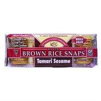 Edward & Sons Brown Rice Snaps Tamari Sesame - 3.5 oz