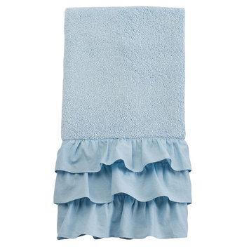 LC Lauren Conrad Ella Hand Towel, Turquoise/Blue (Turq/Aqua)