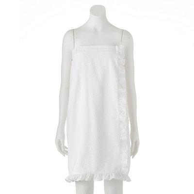 LC Lauren Conrad Bath Wrap, White