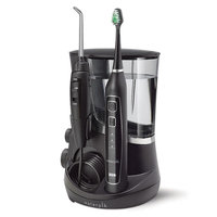 Waterpik Complete Care 5.0 Toothbrush & Water Flosser, Black