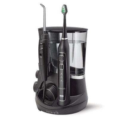 Waterpik Complete Care 5.0 Toothbrush & Water Flosser, Black