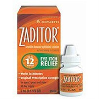 Zaditor Eye Drops Zaditor Ketotifen Fumarate Ophthalmic Solution For Eye Itch Relief