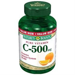 Tures Bounty Multivitamin Vitamin C 500 Mg Dietary Supplement Tablets, By Natures Bounty - 250