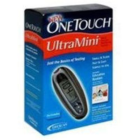 OneTouch UltraMini Glucose Monitoring System, Blue, 1 ea