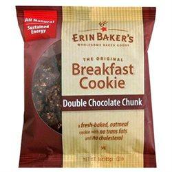 Erin Baker's Breakfast Cookies, Double Chocolate Chunk, 12 pk