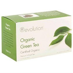Revolution Tea Organic Green Tea - 16 Tea Bags