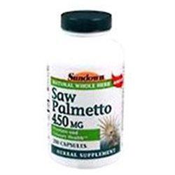 Sundown Saw Palmetto 450Mg Capsules - 100 Count 100 Count
