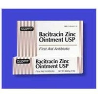 Bacitracin Ointment Bacitracin Zinc First Aid Antibiotic Ointment - 1 Oz