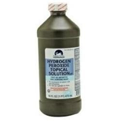Hydrogen Peroxide Solution For Treatment Of Minor Cuts And Abrasions