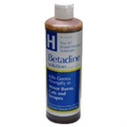 Betadine Antiseptic Solution - 16 Oz