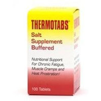 Numark Labs - Thermotabs Buffered Salt Supplement - 100 Tablets