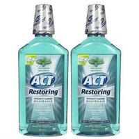ACT: ACT Restoring Mouthwash Cool Splash Spearmint 33 oz