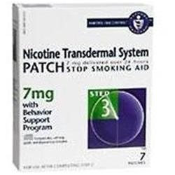 Nicotine Patch NICOTINE TRANS PATCH STP3 7MG Size: 7