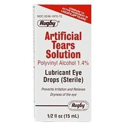 Artificial Tears Solution, 15 ml, Watson Rugby