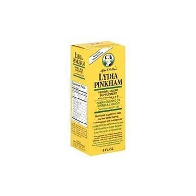 Lydia Pinkham Liquid To Feel Better During Menstruation And Menopause