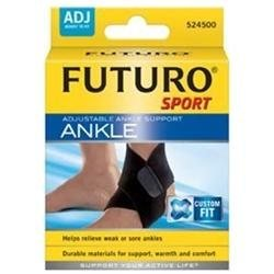 Futuro Sport Adjustable Ankle Support, Neoprene, Black - 1 Ea