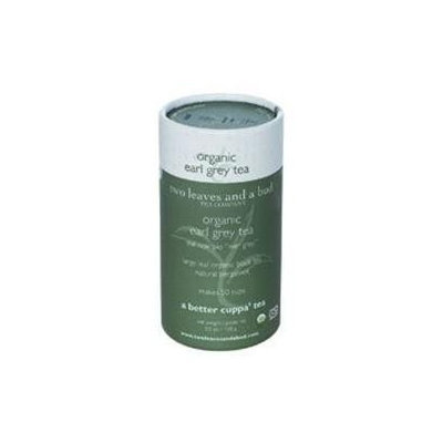 Two Leaves & A Bud Tea Company Two Leaves and a Bud Tea Company Organic Loose Tea Cylinder Earl Grey