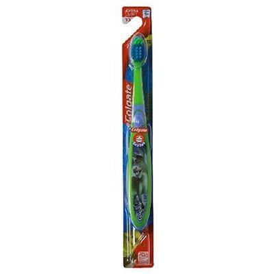 Colgate Toothbrush, For Ages 5+, Extra Soft, 22, Shrek, (6 Manual Toothbrushes)