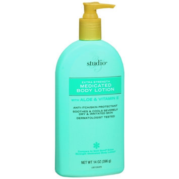 Studio 35 Severe Dry & Itch Medicated Lotion, 14 oz