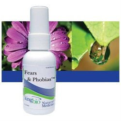 Fears & Phobias 2oz from King Bio Natural Medicines