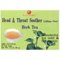 Health King - Head & Throat Soother Herb Tea - 20 Tea Bags