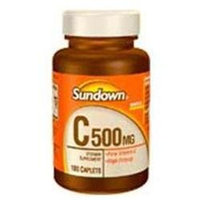 Sundown Vitamin C Plus Natural Rose Hips Tablets - 100 Count 100 Count