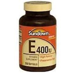 Sundown Vitamin C & E Sundown Vitamin E Softgels - 250 Count