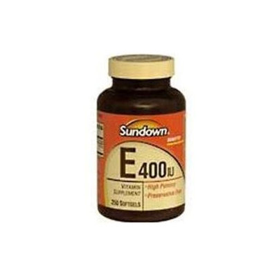 Sundown Vitamin C & E Sundown Vitamin E Softgels - 250 Count