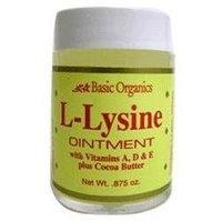 Basic Organics - L-Lysine Ointment - 0.88 oz.