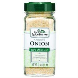 The Spice Hunter Onion, Granulated, Organic, 1.8 oz