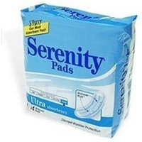 Serenity Ultra Absorbency Pads - 14 Pads / Bag, 6 Bags / Case