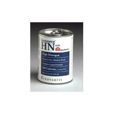 Isosource HN 250 mL Can -Unflavored Case: 24