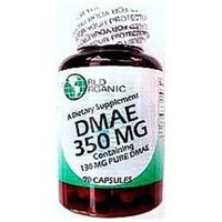 World Organic DMAE - 350 mg - 90 Capsules