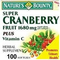 Cranberry Frt+C Softgels 100 Count - NATURE'S BOUNTY, INC.