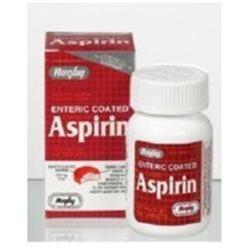 Watson Rugby Labs Aspirin 325 mg, Enteric Coatd, 100 Tablets, Watson Rugby