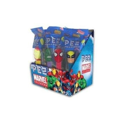 Burdette Beckmann Inc Pez Marvel Comics (12 Individually Wrapped Dispensers)