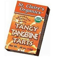 St Claires Organics St. Claire's Organics - Naturally Sweet Tangerine Tarts - 0.56 oz.