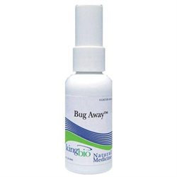 King Bio - Homeopathic Natural Medicine Bug Away - 2 oz.