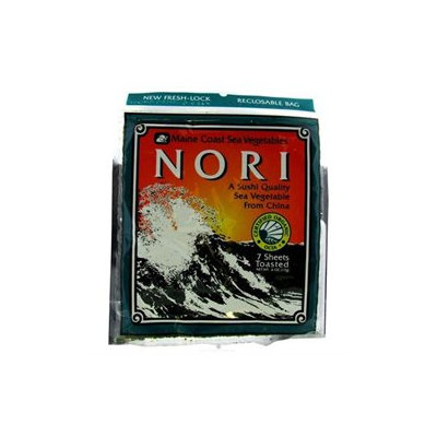 Maine Coast Sea Vegetables - Nori - 7 Pieces