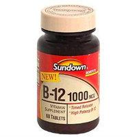 Sundown Vitamin B12, 1000 mcg, 60 Tablets